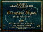 Bourgone Aligoté Alain Patriarche
