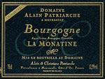 Bourgone Chardonnay La Monatine Alain Patriarche