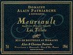 """Meursault """"Les Tillets"""" Alain Patriarche"""