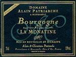 Bourgogne La Monatine Rouge Alain Patriarche