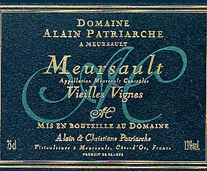 Meursault Vielles Vignes