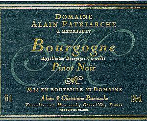 Bourgogne Sélections De Pinot Noir